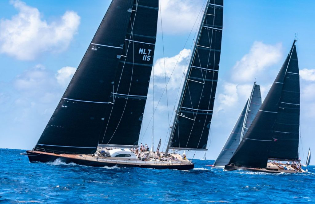 Antigua: Tuần lễ thuyền buồm được tài trợ bởi Newport Shipyard