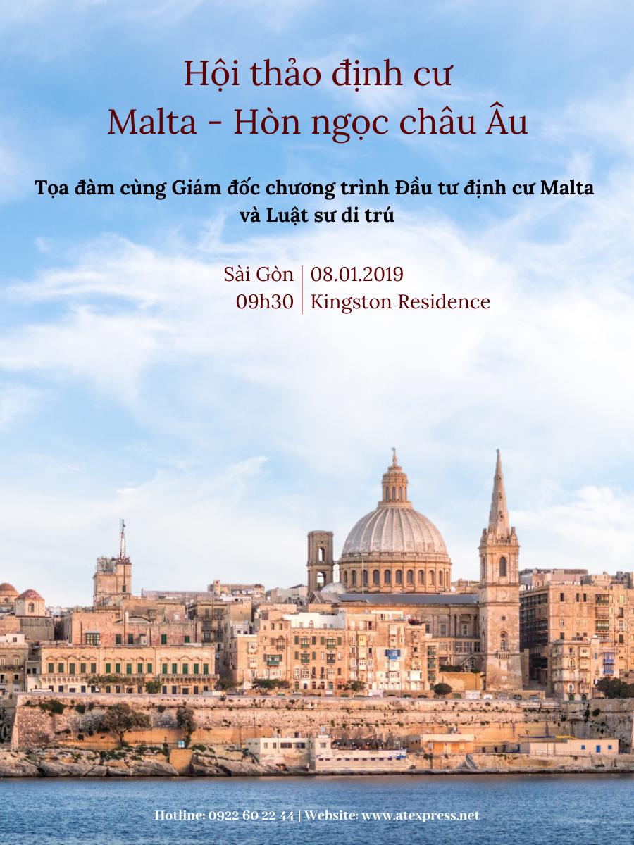 """Tin tổng kết sự kiện: Tọa đàm """"Malta – Hòn ngọc châu Âu"""" tại Sài Gòn"""