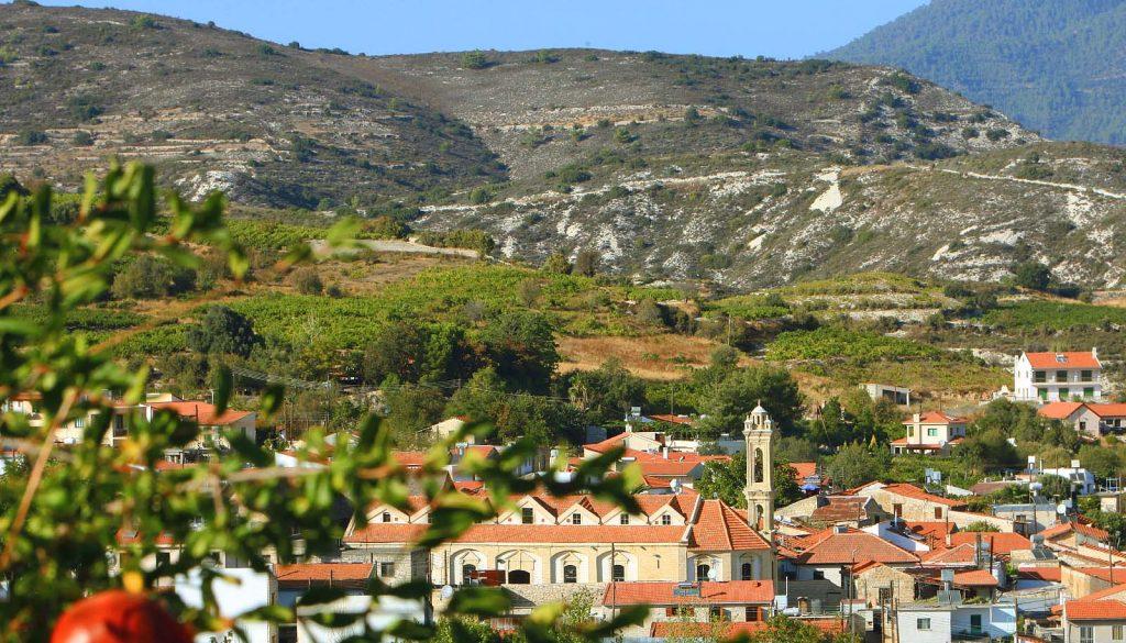 Du lịch cộng hòa Síp – Làng Omodos