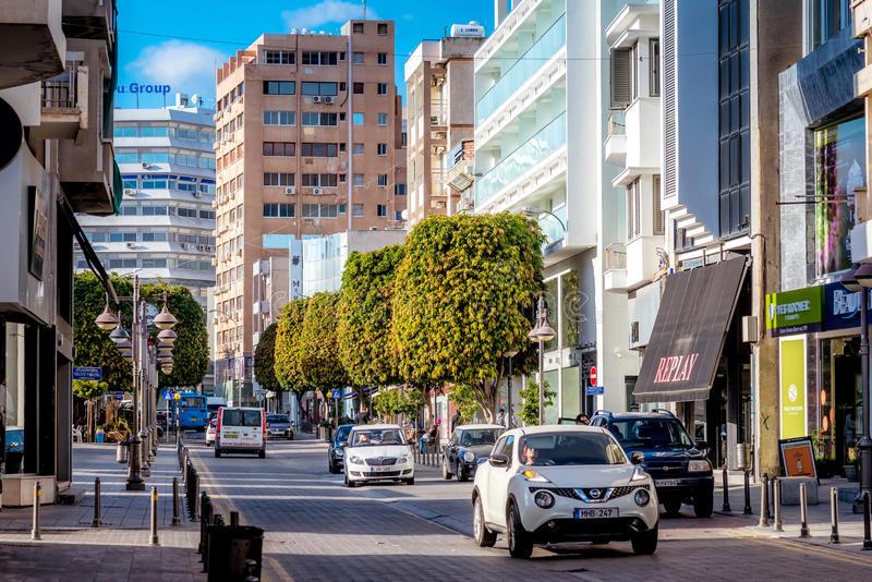 anexartisias-street-cyprus-AT Express-cộng hòa síp