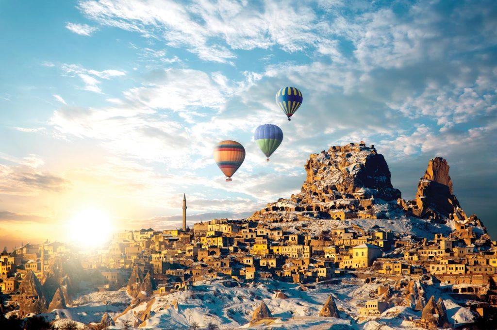 Khám phá Thổ Nhĩ Kỳ – Xứ sở thảm bay đẹp tuyệt vời