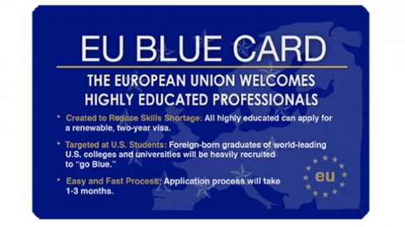 Tăng mức lương tối thiểu cho thẻ xanh EU